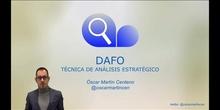 DAFO Técnica de análisis estratégico