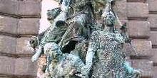Estatuas del Palacio Real, Budapest, Hungría