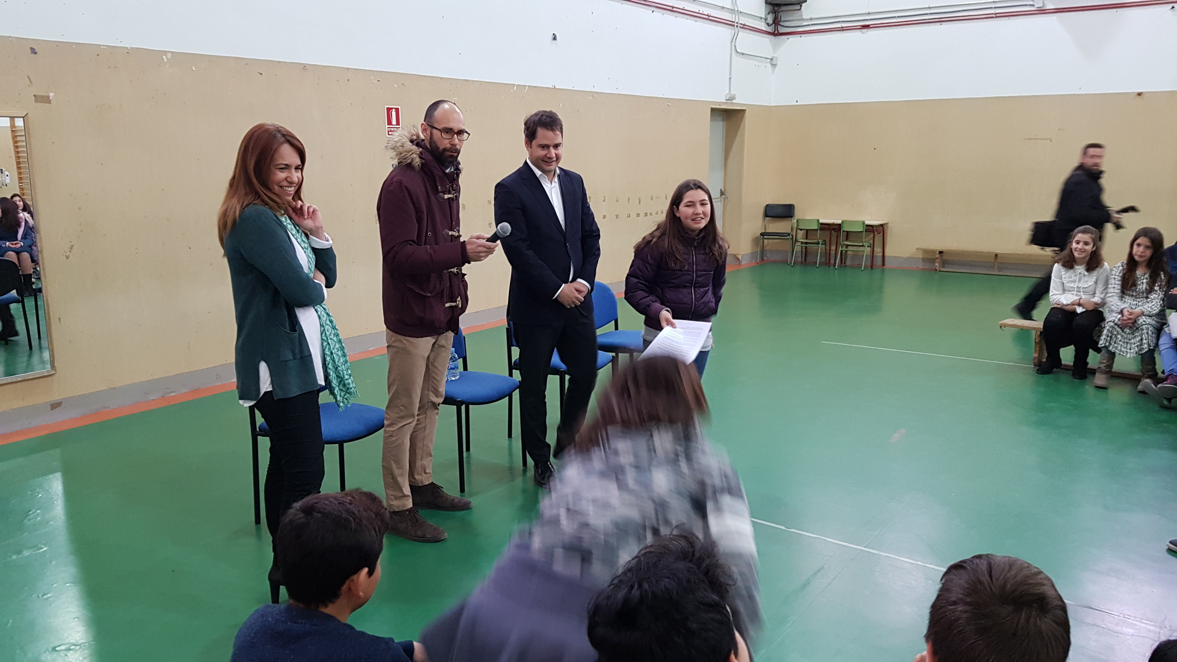 Visita del Alcalde de Torrejón de Ardoz al CEIP Andrés Segovia 3