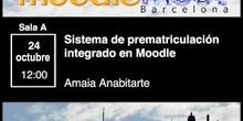 Sistema de prematriculación integrado en Moodle