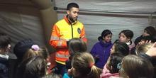 Quinto con los equipos de emergencias de las Rozas_CEIP FDLR_Las Rozas 10