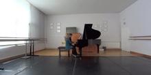 Rhapsody in blue Gershwin 4 manos Maria Ramallo Pedro Casals