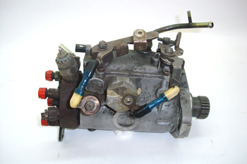Bomba inyectora DPC. Vista lateral