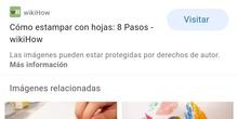 TÉCNICA DE ESTAMPADO 7