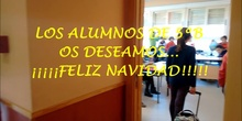 FELICITACIÓN NAVIDEÑA 5ºB 2016-2017