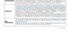POLÍTICA DE PRIVACIDAD EN CENTROS DOCENTES PÚBLICOS DE LA COMUNIDAD DE MADRID matrícula 2020-2021