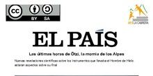 Ötzi, actividad interdisciplinar para el ámbito sociolingüístico de 1º ESO