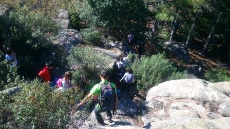 2017_10_23_Sexto hace senderismo y escalada en la Pedriza 9