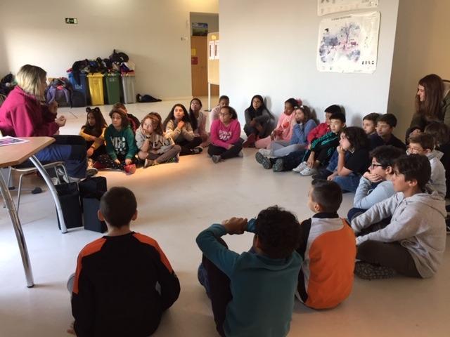 Centro de Interpretación de la Naturaleza. Montecarmelo. 6º curso. 20