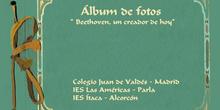 """ÁLBUM DE FOTOGRAFÍAS DEL PROYECTO ADOPTAR UN MÚSICO """"BEETHOVEN, UN CREADOR DE HOY"""" (III)"""