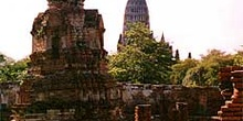 Restos en Ayutthaya, Tailandia