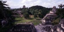 Acrópolis Norte, Plaza Mayor y Templo II, Tikal, Guatemala