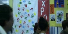 EXPOSICION TALLERES 1º y 2º E.P. CEIP Juan Gris de Madrid