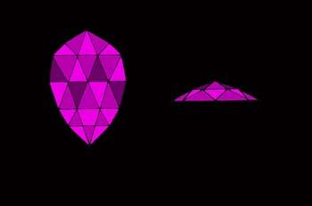 Talla rosa en pera