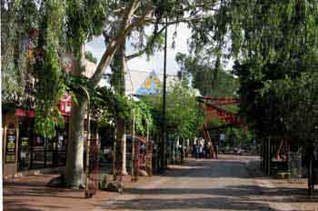 Alice Springs: centro de la ciudad, Australia
