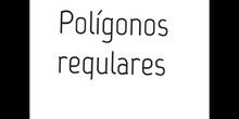PRIMARIA 5º- POLÍGONOS REGULARES - MATEMÁTICAS - FORMACIÓN