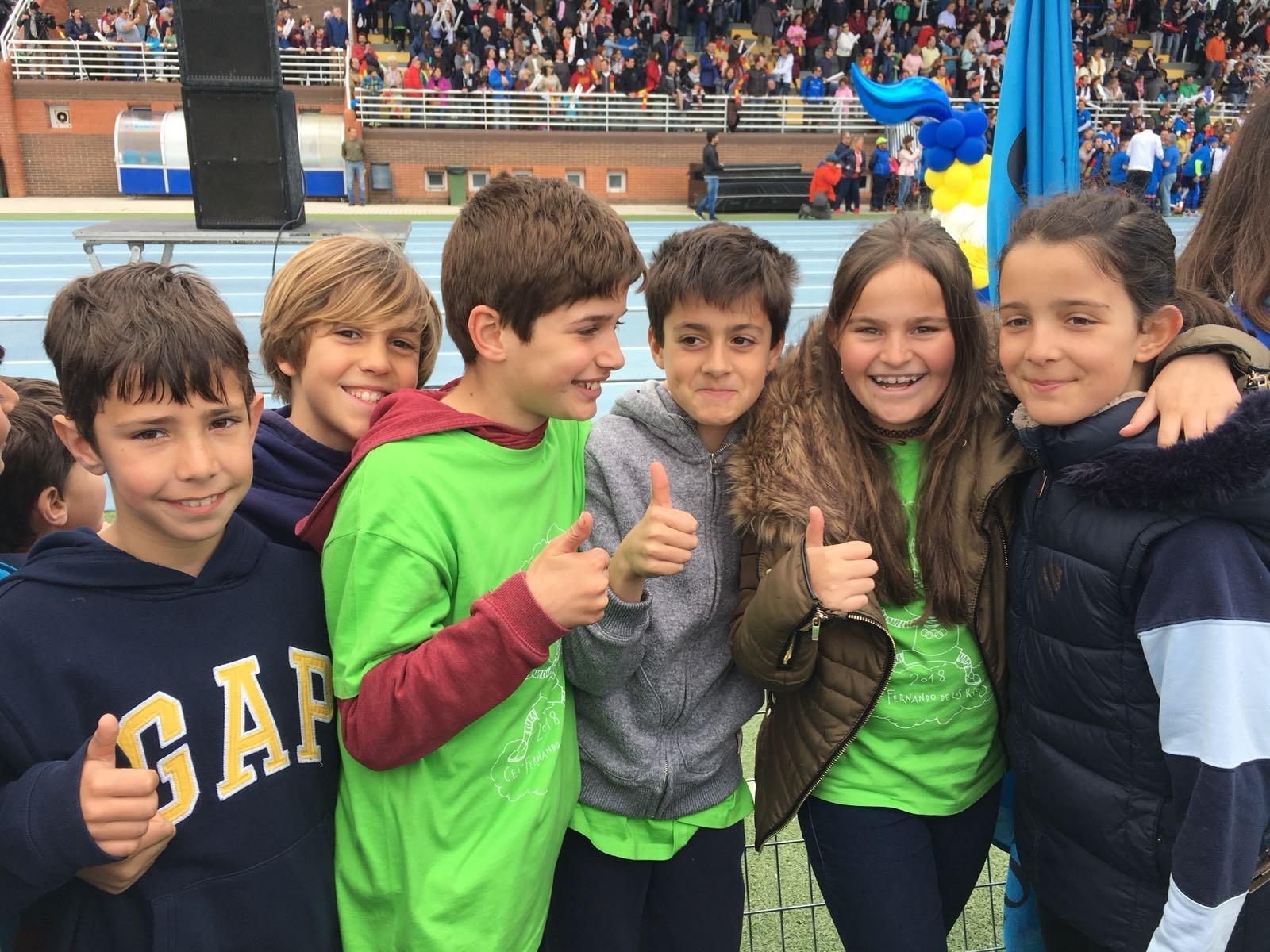 2018-04-09_Olimpiadas Escolares_CEIP FDLR_Las Rozas_Desfile 3