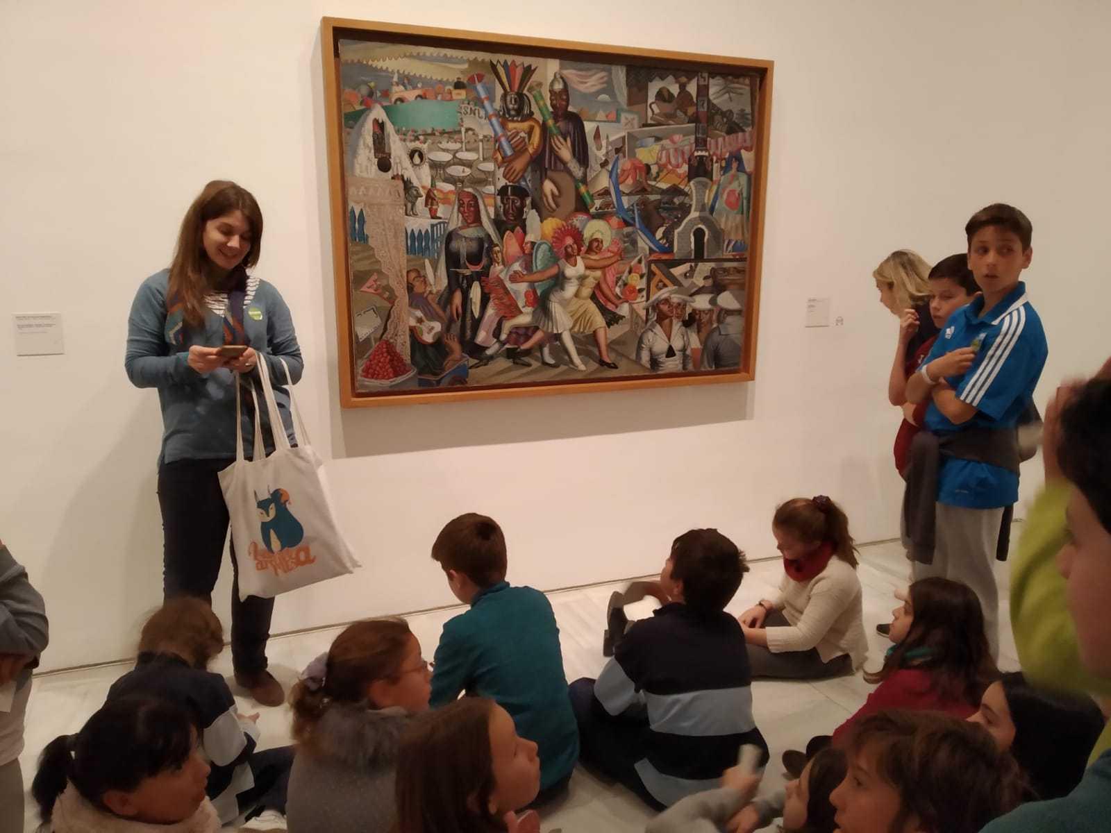 2019_02_07_Quinto visita Museo Reina Sofia_CEIP FDLR_Las Rozas 1