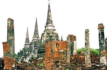Palacios y templos, Ayutthaya, Tailandia