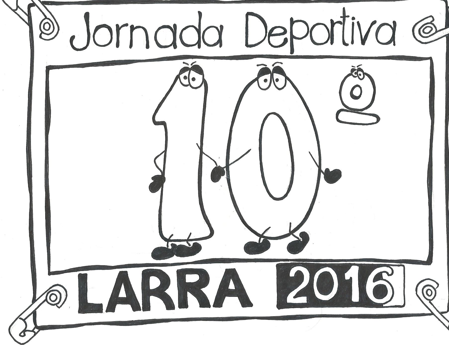 LOGO GANADOR 10ª JORNADA DEPORTIVA