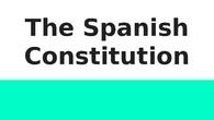 SOCIALThe Spanish Constitution