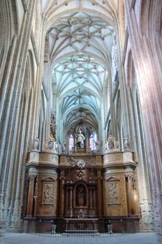 Retablo de San Miguel, Catedral de Astorga, León, Castilla y Leó