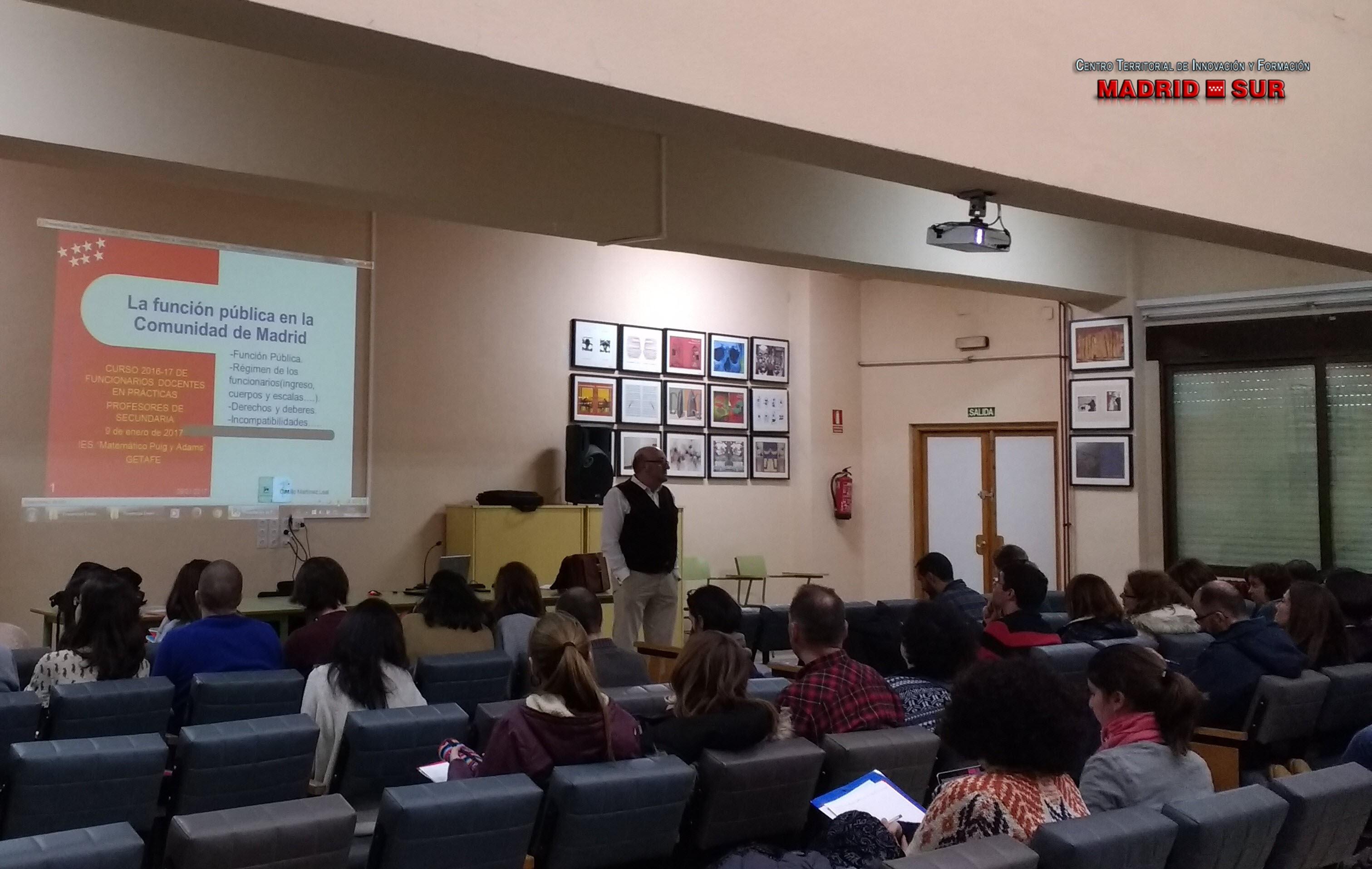 La Función Pública en la Comunidad de Madrid. Conceptos básicos de procedimiento administrativo. Funciones del profesorado.