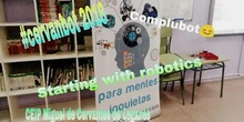 #cervanbot: Crumble con Complubot - Taller Starting With Robotics (grabado por alumnos)