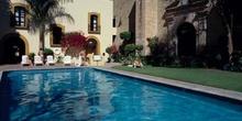 Piscina del hotel Camino Real de Oaxaca, México