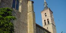 Torre del reloj en Fuentidueña del Tajo