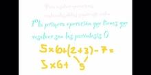 PRIMARIA - 6º - OPERACIONES COMBINADAS 2 - MATEMÁTICAS