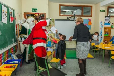 Los RRMM y Papá Noel en INF 5A 2