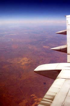 Volando sobre el Outback, Australia
