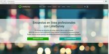 1. Encuestas con LimeSurvey - Configuración