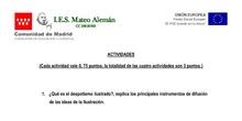 ACTIVIDADES FPB II COMUNICACIÓN Y SOCIEDAD ABRIL