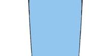 Falda de línea tubo