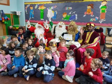 Los RRMM  Papá Noel en 1º (1) 17