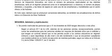 Instrucciones comienzo curso CEPA 2020-2021