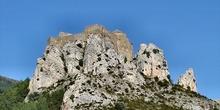 Fortificación natural, Huesca