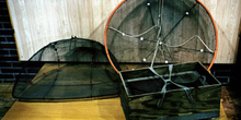 Cedazos para la pesca de la angula, Museo Marítimo de Asturias,