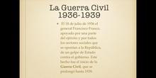 6º sociales la guerra civil