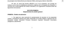 Resolución admisión