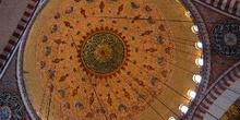 Detalle de una cúpula en Suleymaniye Camii, Estambul, Turquía