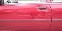 Puerta de un coche