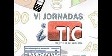 """Ponencia de Dª Vanesa Sancho """"El teclado de mi ordenador con realidad aumentada"""" VI Jornadas iTIC 2014"""