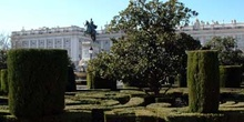 Jardines de Sabatini, Palacio Real, Madrid
