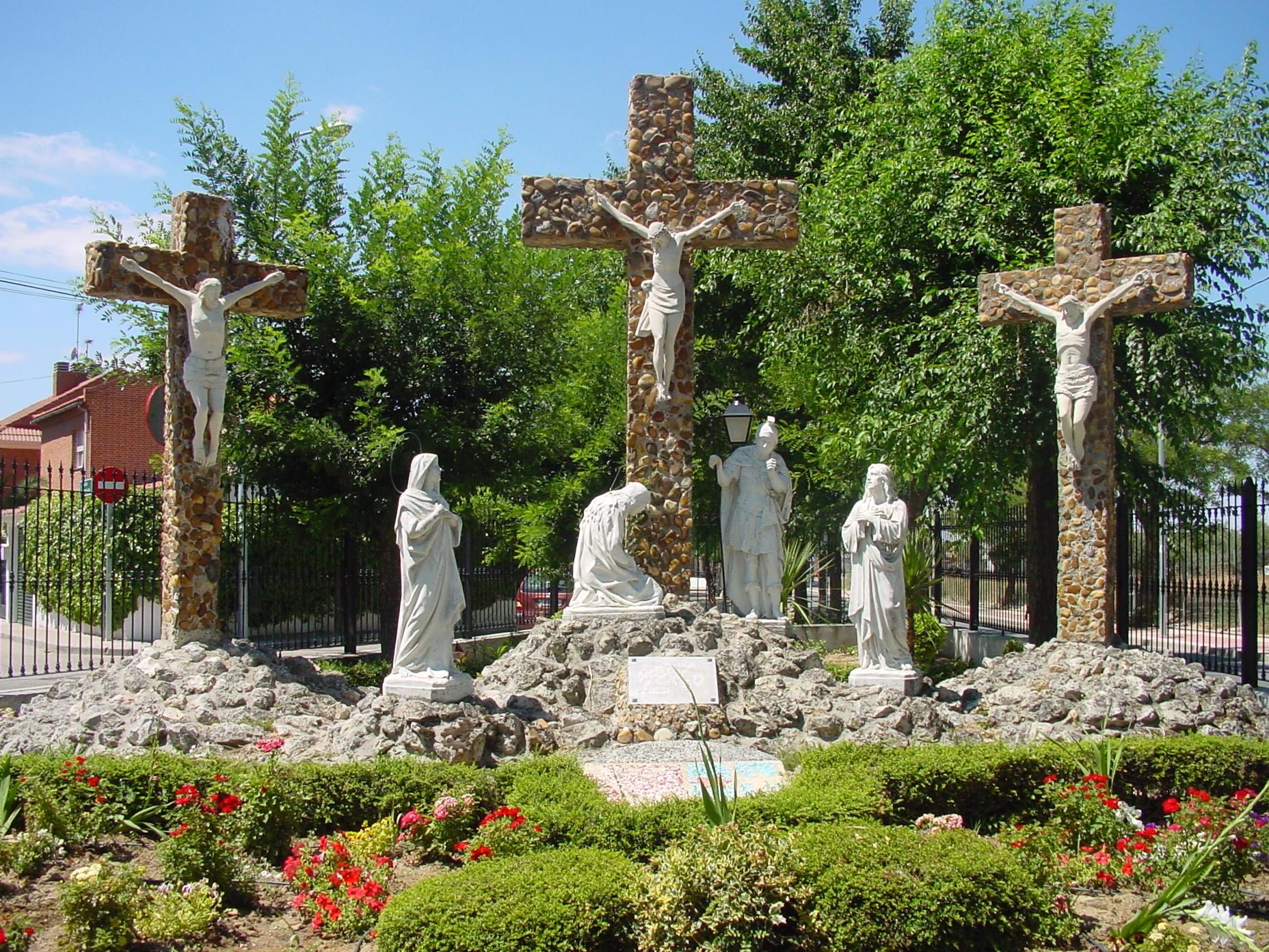 Monumento del Calvario en Parla