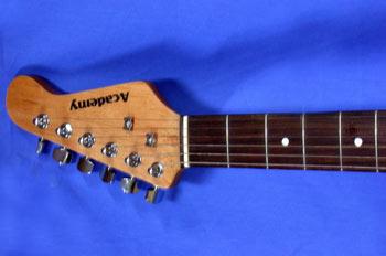 Mástil de guitarra eléctrica