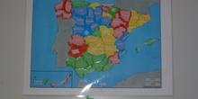 Provincias: mapa manipulativo