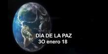 Día de la Paz 18 en el CEIP Amadeo Vives